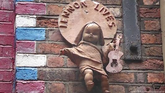 Lennon Lives artwork, Mathew Street
