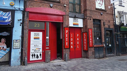 The Magical History Museum, Mathew Street