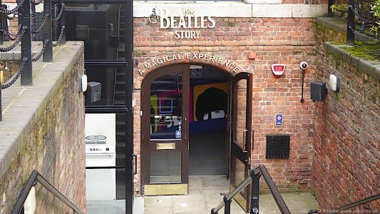 The Beatles Story steps