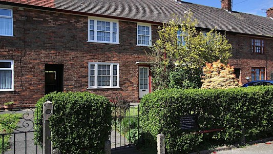 20 Forthlin Rd childhood home of Paul McCartney