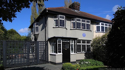 252 Menlove Avenue, Mendips childhood home of John Lennon