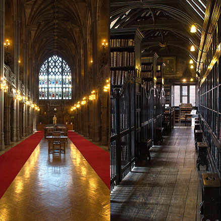 The course includes a cultural visit, for instance to one or more of these libraries
