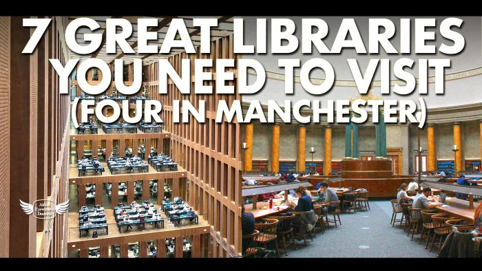 7 great libraries you need to visit (four in Manchester)
