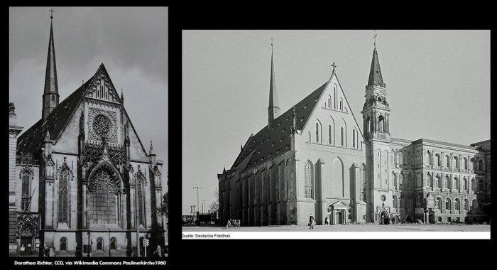 Paulinerkirche Leipzig before destructionPaulinerkirche