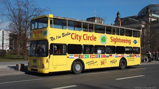 City Circle tour bus