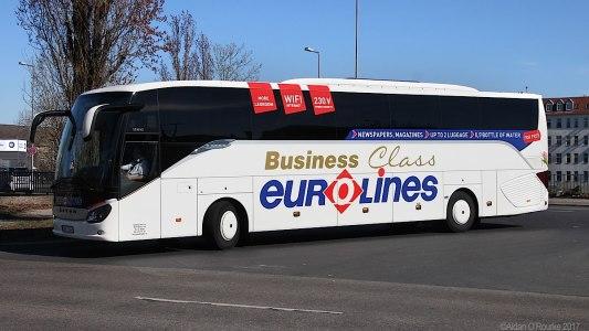 Bus Eurolines Berlin