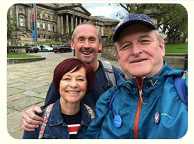 Eamonn and Marion from the Wirral