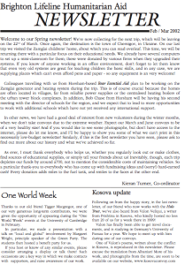 Spring 2002 newsletter