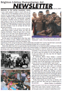 Spring 2004 newsletter