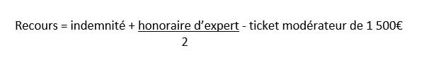 Formule calcul du recours convention CRAC.