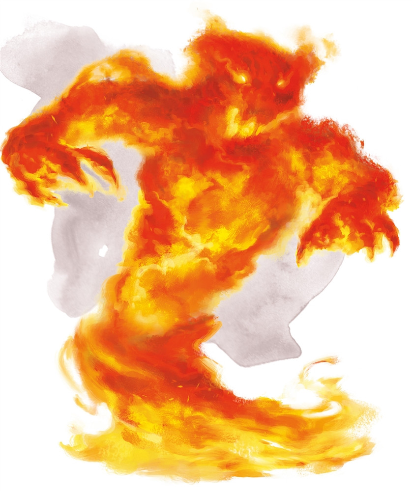 Dungeons And Dragons Elemental