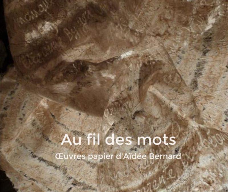 Catalogue d'exposition «Au fil des mots»