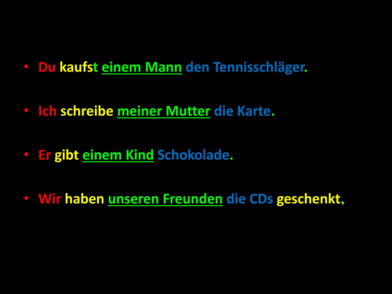 German Dative