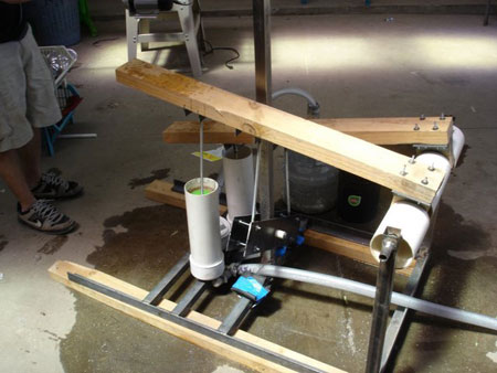 Open source treadle pump