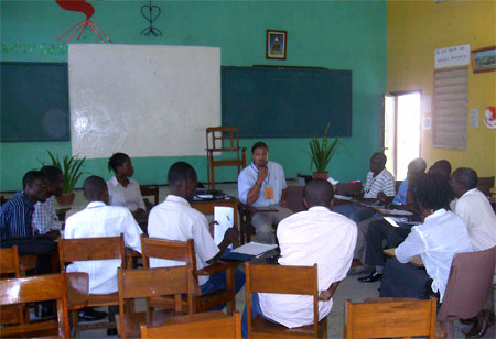 The 5 finalist teams for AIDG's biogas business plan competition, Konkou Biznis Ayiti