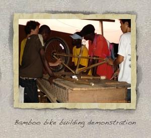 Bamboo Bike Assembly
