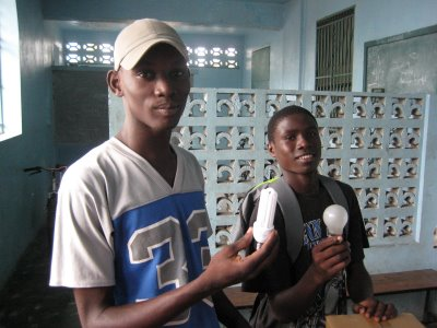 Two Boy Scouts in Les Cayes