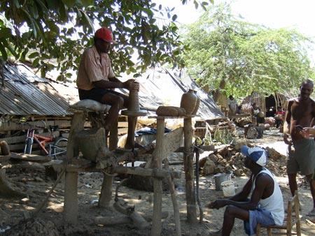 Potter at Work, Lori, Haiti