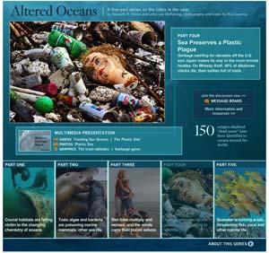 LA Times altered oceans