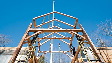 Timber frame lede