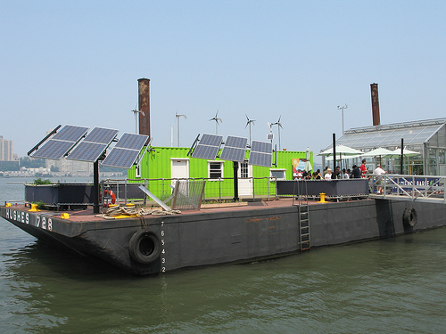 NY Sun Works Science Barge
