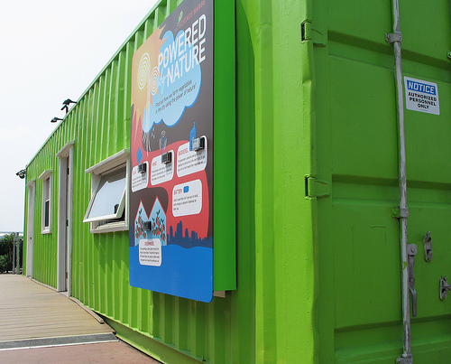 Yey another recycled shipping container