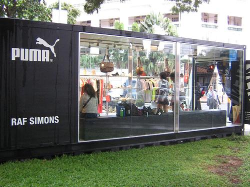 Puma Concept Store in Singapore