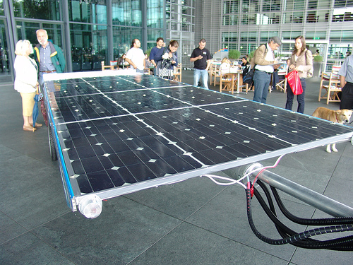 Solar Panel for Solartaxi