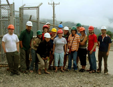 TecoTour volunteers visit Geothermal Plant in Guatemala