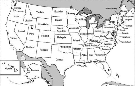 US States renamed for Countries with closest GDP