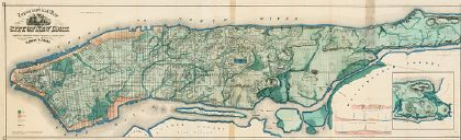 Viele Map of Manhattan