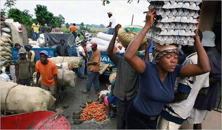 Poor to Poor migration:  From Haiti to the Dominican Republic