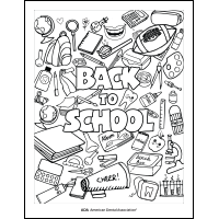 Back to School Dental Health Activity Sheets