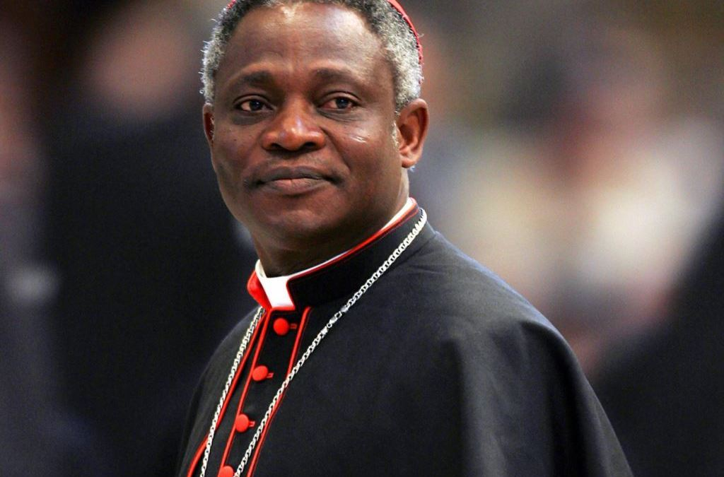 CARDINAL Peter Turkson at Laudato Si Conference in UN Geneva on 15th Jan. 2016