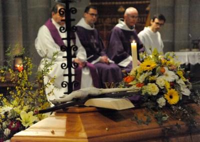 Messe de sépulture de Don Patrick Delaubier du 2 mars 2016 : Hommages en fin de messe de sa famille et de ses amis