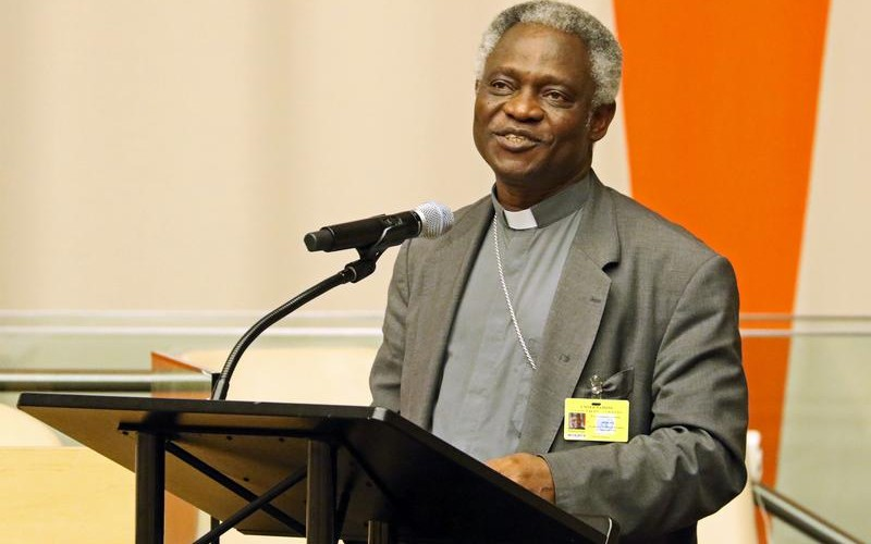 Encyclical on just war theory 'plausible', says cardinal Peter Turkson