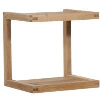 Ethnicraft Oak Frame sofa side table