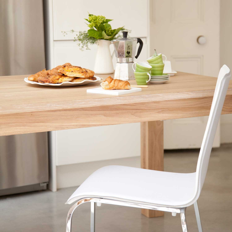 Brooklyn oak dining table  Adventures in Furniture