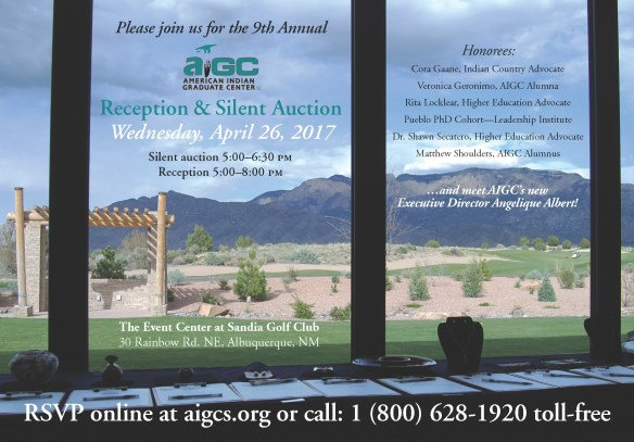 AIGC 9th Annual Reception adn silent Auction