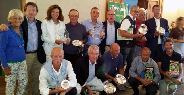 I premiati al Golf Torino