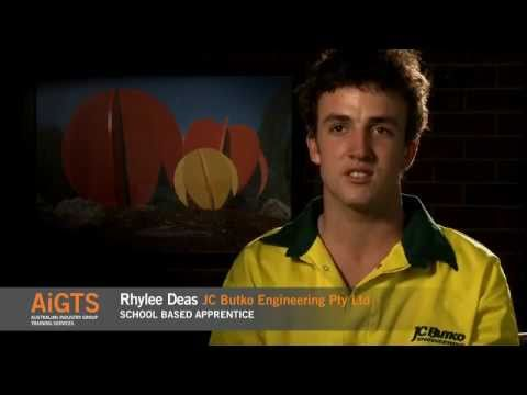 Engineering Apprenticeships - AiGTS - Rhylee Deas Engineering / Manufacturing