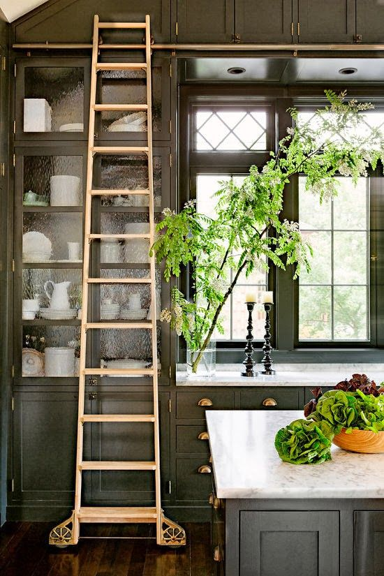 kitchen ladder retro table sets ladders american institute of interior design