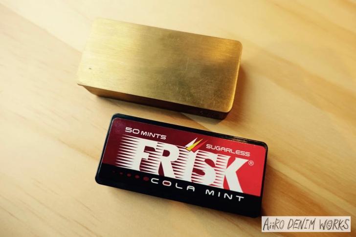 フリスク 真鍮ケース