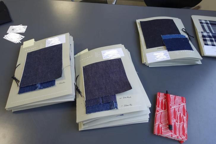 コレクトのデニム生地 オリジナルジーンズ