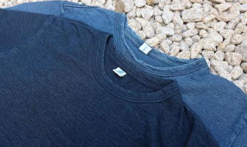 経年変化の楽しめるインディゴTシャツ
