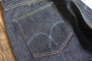 フルカウントのバックポケットの形状