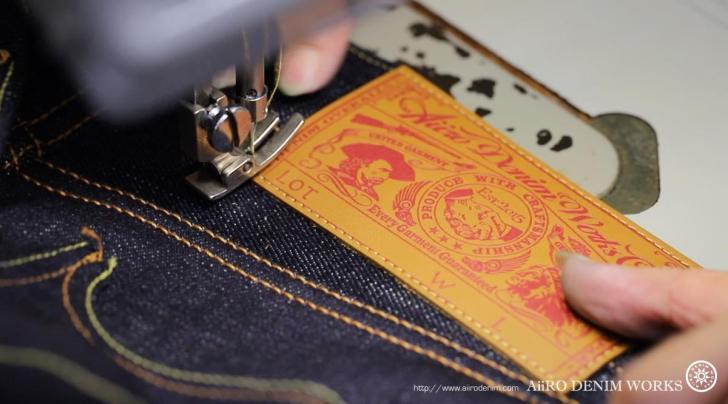 AiiRO DENIM WORKS 縫製工場