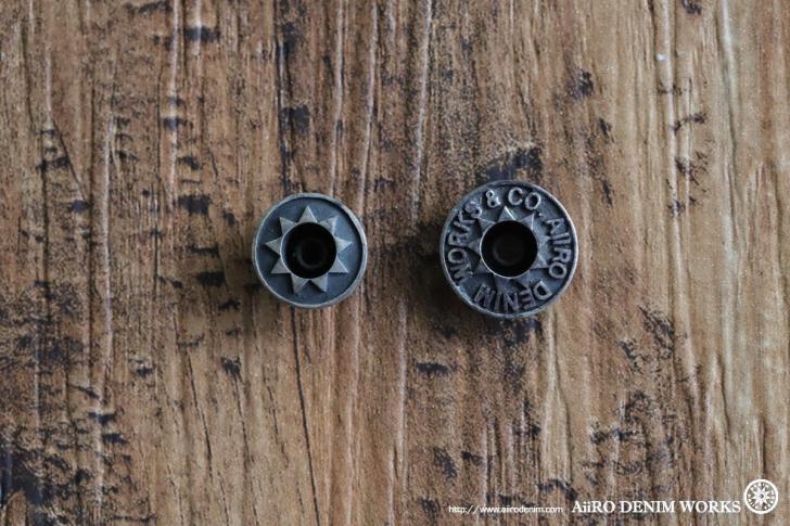シルバー925 ボタンの経年変化