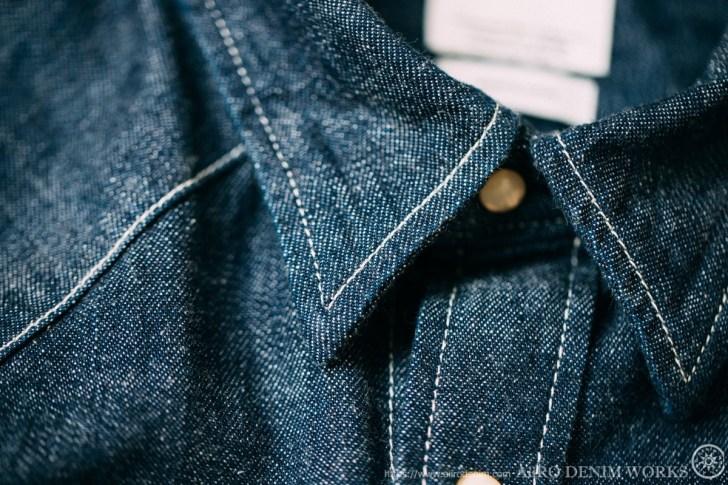 VISVIM(ビズビム)のデニムシャツ