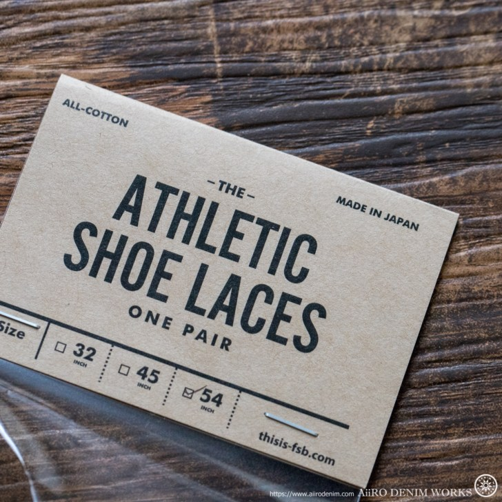 All-Cotton Athletic Shoelaces